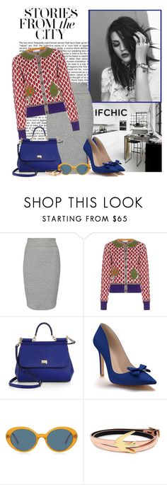 """The Pattern"" by polybaby ❤ liked on Polyvore featuring Marc Jacobs, Enza Costa, RED Valentino, Dolce&Gabbana, Shoes of Prey, Oliver Peoples, McQ by Alexander McQueen, valentinesday, ifchic and worldwideshipping"