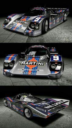 Porsche 956 Martini 1985