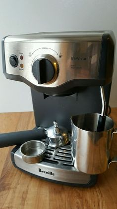 Breville BarVista Cappuccino Espresso Coffee Machine Stainless BES200XL - Used in Home & Garden, Kitchen, Dining & Bar, Small Kitchen Appliances | eBay