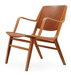 Grete Jalk Glostrup Teak Danish Mid Century Modern Easy Chairs