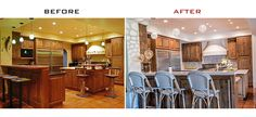 Red Egg Design Group | Kitchen Before and After