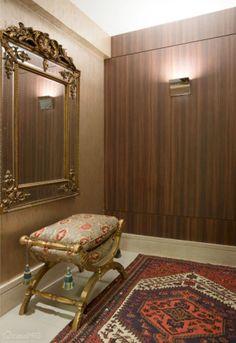 Hall de entrada projetado por Eglimar Pinto.