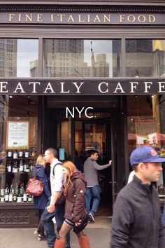 My story of Eataly N