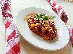 Gnocchi alla salsa Bolognese :) #anticapizzeria