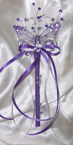 flower girl wands & bridesmiads wands - wands for a princess (home )