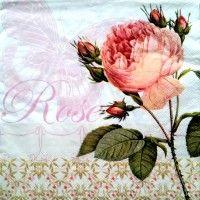 Servítka - ruža