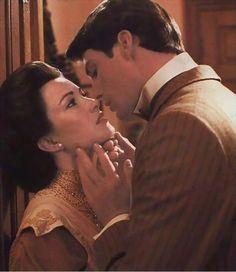 """Jane Seymour & Christopher Reeve en """"En algun lugar del Tiempo""""/ """"Somewhere in Time"""""""