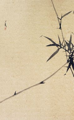 iamjapanese: Shan Fan(Chinese, Bambus ink on paper link Sumi E Painting, Japan Painting, Chinese Painting, Bamboo Art, Art Asiatique, Tinta China, China Art, Japanese Prints, Japan Art