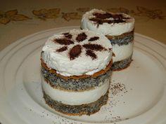 Makový zákusek bez mouky   NejRecept.cz Tiramisu, Cheesecake, Pizza, Gluten Free, Ethnic Recipes, Desserts, Cakes, Author, Glutenfree