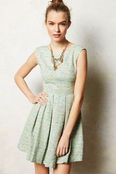 Parkside Pleated Dress