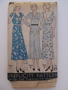 Aria 1930s Vintage Style Cotton Dress by timemachinevintage, $145.00