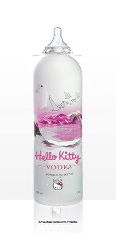 Hello Kitty Vodka