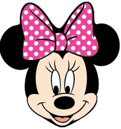 minnie mouse face colouring pages - Google Search