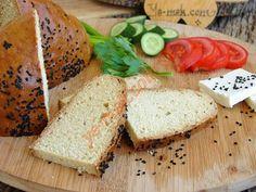 Mayasız Ekmek Turkish Recipes, Bread Baking, Hamburger, Recipies, Good Food, Brunch, Food And Drink, Gluten Free, Healthy Recipes