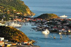 Port of Gustavia - Saint Barthelemy, French West Indies