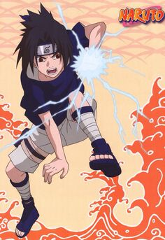 Sasuke from NARUTO Naruto Team 7, Naruto Fan Art, Anime Naruto, Anime Guys, Sasuke Uchiha Shippuden, Sasuke And Itachi, Kakashi Hatake, Naruto Images, Naruto Pictures
