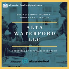 """Alta Waterford LLC is a business consulting company that focuses on clients' satisfaction a lot. Their experts would make you feel at home and would always be available to assist you.👉 altawaterfordllc@gmail.com """"Hit The Save Button & Follow Us"""" #AltawaterfordllcWordpress #helpyoutogrow #Altawaterfordllc Consulting Companies, Consulting Firms, Economic Environment, Essential Questions, Business Organization, Business School, Wordpress, Knowledge, Management"""