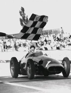 Fangio's final victory, German GP, 1957
