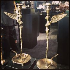 Fairy candlestick holders by Michael Aram