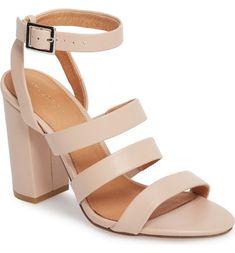 Coach 'marina' Strappy Platform Sandal (women) In Beechwood Suede Nude Heels, High Heels, Strappy Sandals, Wedding Shoes, Wedding Blog, Black Shoes, Women's Shoes, Platform, Sandals Online