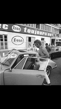 Steve McQueen-Le Mans 1970-Porsche 911S