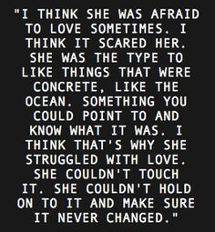 ~love is scary