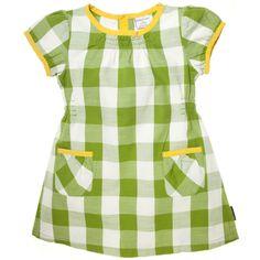 BUFFALO CHECK LINEN DRESS // polarnopyretusa.com
