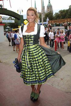 Cute girl at Oktoberfest 2012