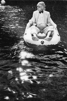 David Hockney at Rising Glen, Hollywood | MICHAEL CHILDERS