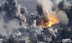 مقتل عشرات المدنيين بغارات روسية على حلب: مقتل عشرات المدنيين بغارات روسية على حلب