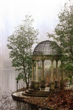 Gazebos, Beautiful Architecture, Abandoned Places, Abandoned Houses, Beautiful Places, Scenery, World, Pictures, Aesthetics
