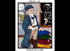 King of Pentacles / Head of Ravenclaw