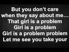 Natalia Kills - Problem (Full) LYRICS - YouTube