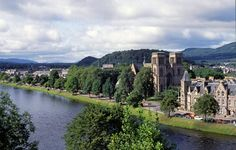 Part of the old town of Inverness, the capital of the Highlands and one of Europe's fastest growing cities.