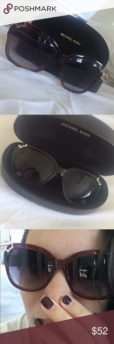 📦FREE SHIPPING📦 Michael Kors Sunglasses Michael Kors Sunglasses   As seen in close ups, minor scratches on lenses. Comes with case!  Price reflects.   🌟EVERYTHING MUST GO!!🌟  Like any item in my closet and I will send  you an offer with an additional 10% (or more)  off plus 📦📦📦 FREE SHIPPING 📦📦📦  All items are packaged and ready to mail!  Items purchased before 5pm EST will  be dropped off at USPS store same day.   Purchases made after 5pm EST or on  Sunday's will be dropped off at…