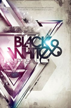 Black and White Superball