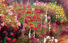Rose garden 3 Painting by Bo Li - Rose garden 3 Fine Art Prints and ...