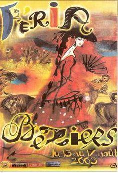 Béziers affiche féria 2003