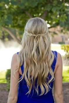 Keep things simple with long, easy waves.
