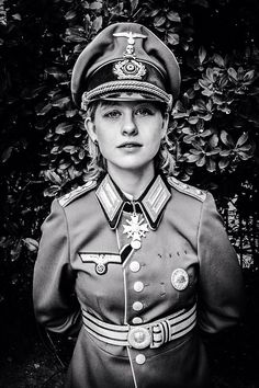 An aftermarket replica. Nazi Propaganda, German Women, German Girls, Military Women, Military History, Aryan Race, German Uniforms, Military Pictures, Military Girl