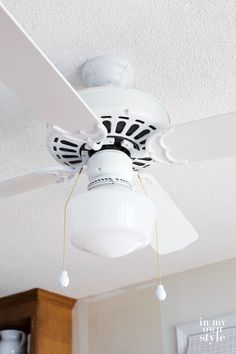 Upgrade and old ceiling fan affordably