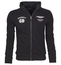 polo ralph lauren discount Hackett London Aston Martin Racing GB Terry  Cotton Full Zip Hoody Black 3c22e20ebcf