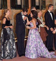 Queen Silvia, Infanta Elena, Felipe, Inaki