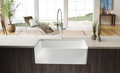 Blancou0027s New CERANA™ Apron Front Sink.