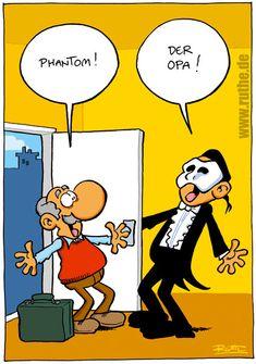 Phantom! Der Opa!