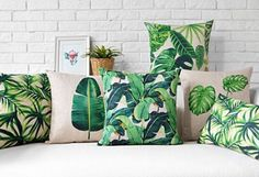 Add some tropical vibes to your wardrobe this summer. With palm trees & banana leaf prints, you can't go wrong wether it be clothing or home accessories!