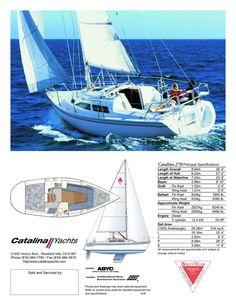 a 27' Catalina sailboat on the San Francisco Bay