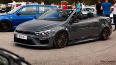 Volkswagen Eos with Scirocco Front and Engine Coming to Worthersee Scirocco Tuning, Vw Scirocco, Vw Eos, Future Girlfriend, Cool Sports Cars, Amazing Cars, 3d Design, Jeep Wrangler, Audi A3