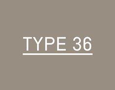 Type-36 / Free font / #regular