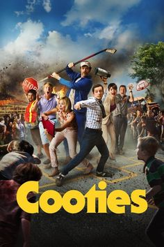 One horror comedy you're definitely going to want to see this fall is the upcoming film, Cooties. The film stars Elijah Wood, Rainn Wilson, and Jack Streaming Movies, Hd Movies, Horror Movies, Movies Online, Movies To Watch, Movies And Tv Shows, Cult Movies, Funny Movies, Movie Film